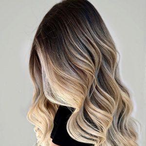 Blondes (eg global or highlighted hair)